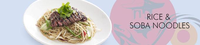 Rice & Soba Noodles