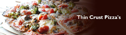 Thin Crust Pizza's