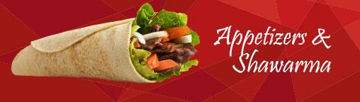 Appetizers & Shawarma
