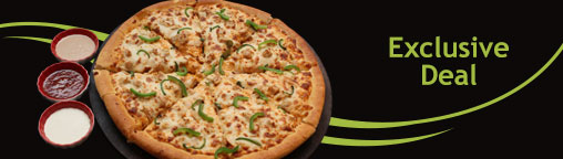 Exclusive 50% Discount on Pizzas