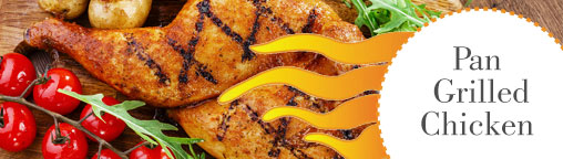 Pan - Grilled Chicken