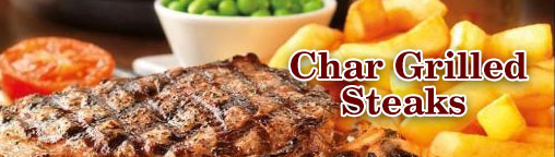 Char Grilled Steaks