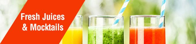 Fresh Juices & Mocktails