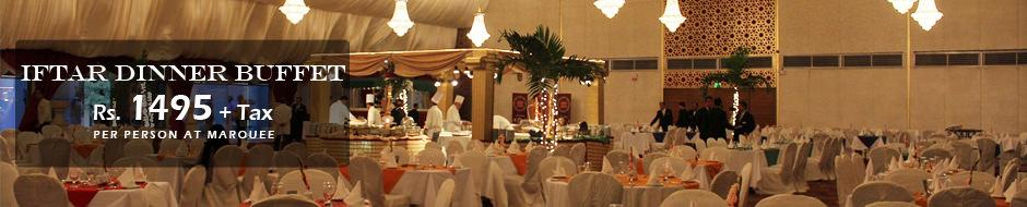 Marriott Iftar Dinner at Pool Marquee Karachi Cover