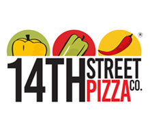 14th Street Pizza Co., Clifton Karachi Logo