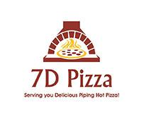 7D Pizza Islamabad Logo