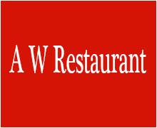 A W Restaurant Karachi Logo