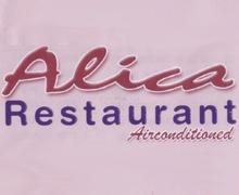 Alica Restaurant Karachi Logo