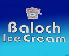 Baloch Ice Cream, DHA Karachi Logo