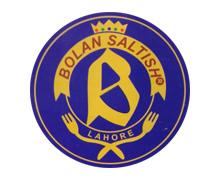 Bolan Saltish, Johar Town Lahore Logo
