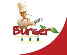 Burger Hub, Gulberg Lahore Logo