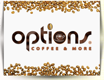 Options Coffee & More Lahore Logo