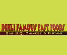 Dehli Famous FastFood Karachi Logo