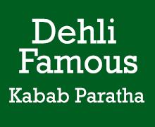 Dehli Famous Kabab Paratha