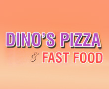 Dinos Pizza & Fast Food Lahore Logo