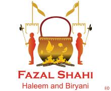 Fazal Shahi Haleem & Biryani, Tariq Road Karachi Logo
