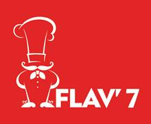 Flav 7, Clifton Karachi Logo