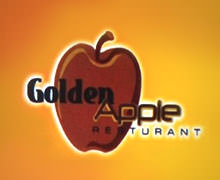 Golden Apple Restaurant Hot n Roll, Saddar Karachi Logo