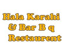 Hala Karahi & Bar BQ Restaurant Karachi Logo