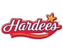 Hardees, M. M. Alam Road Lahore Logo