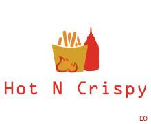 Hot N Crispy, Badar Commercial Karachi Logo
