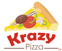 Krazy Pizza, North Nazimabad Karachi Logo
