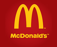 McDonald's, Dolmen Mall, Clifton Karachi Logo
