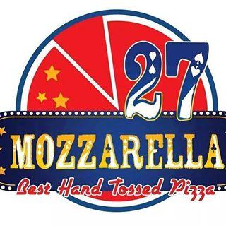 Mozzarella 27, Gulberg Lahore Logo