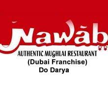 Nawab, Authentic Mughlai Restaurant, Do Darya Karachi Logo