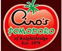 Ciros Pomodoro Lahore Logo