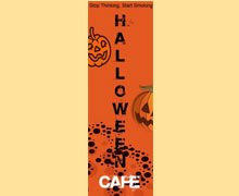 Halloween Cafe Lahore Logo