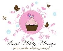 Sweet Art By Aneeza Karachi Logo