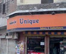 Unique Bakery, Karim Park Lahore Logo