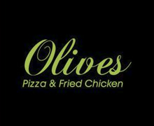 Olives Pizza and Fried Chicken