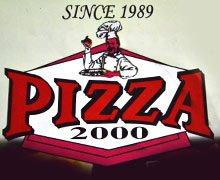 Pizza 1000, Bahadurabad Karachi Logo