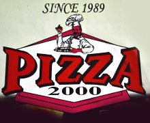 Pizza 1000, North Nazimabad Karachi Logo