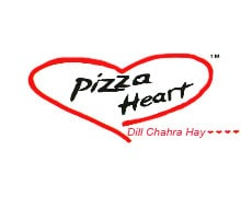 Pizza Heart, Link Road Lahore Logo