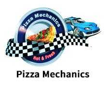 Pizza Mechanics Karachi Logo