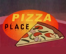 Pizza Place, North Nazimabad Karachi Logo