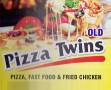 Twin's Pizza & Broast Lahore Logo