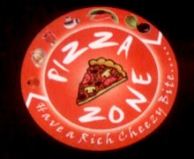 Pizza Zone, Amir Khusro Road Karachi Logo