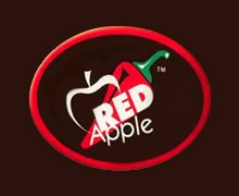Red Apple - Johar Karachi Logo