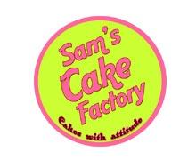 Sams Cake Factory Karachi Logo