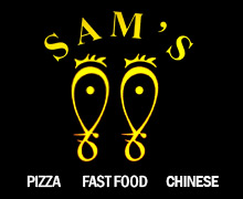 Sams Fast Food, North Nazimabad Karachi Logo