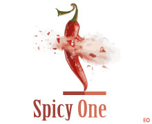Spicy One, Clifton Karachi Logo