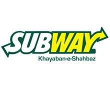 Subway, Gulberg Lahore Logo